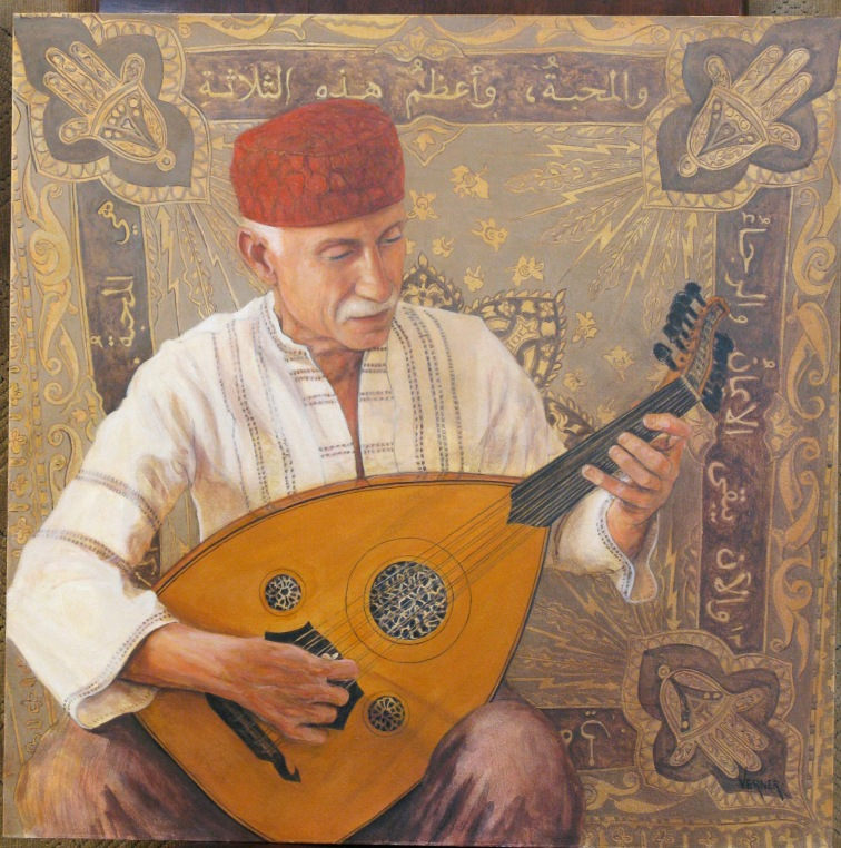 oud painting