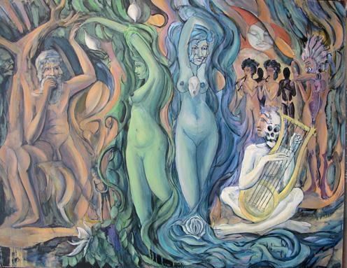 The Divine Dance ble canvas